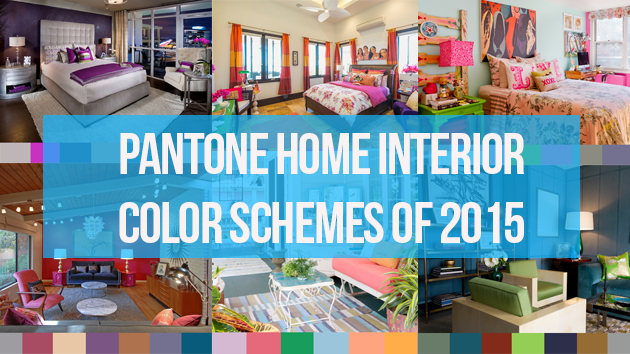 pantone color scheme trends of 2015 for the home interior home
