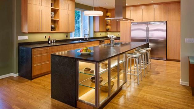 23 Wooden Finished Porcelain Tile Kitchen Floor Home