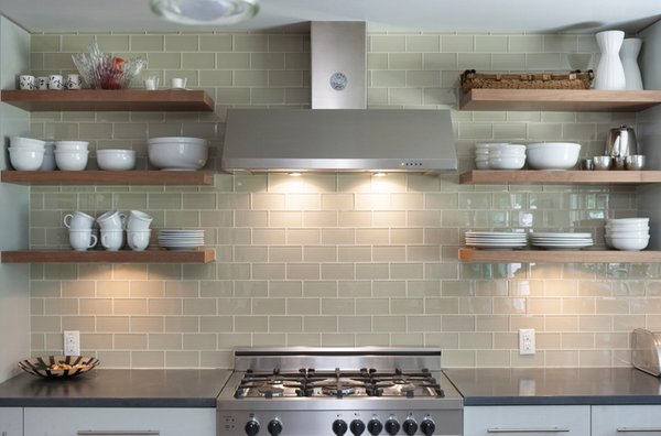 Kitchen Floating Shelves