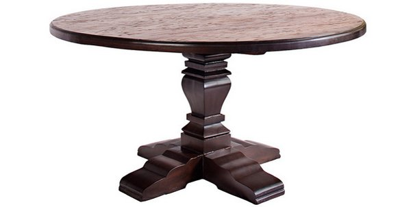 elegance design 72 round dining table | 20 Irresistible 72 inch Wooden Round Dining Tables | Home ...
