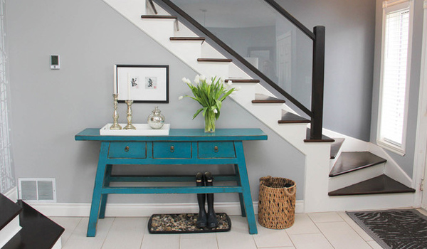 Funky Foyer Furniture : How to decorate a foyer table like pro home design lover
