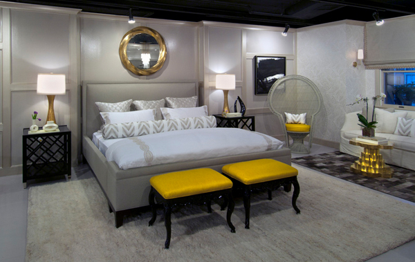 20 Sophisticated Black and Yellow Bedrooms | Home Design Lover