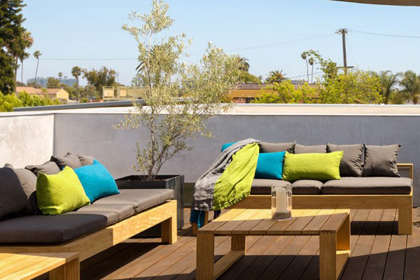 roof deck couch set