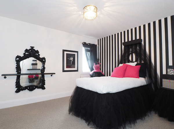 20 gorgeous pink and black accented bedrooms home design 18354 | 17 tiffany mackinnon