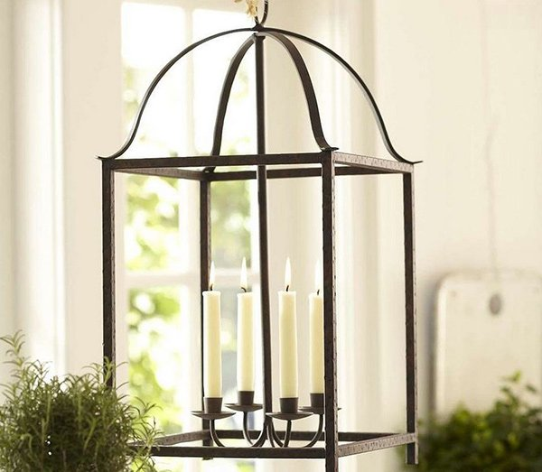 Blacksmith Taper Lantern