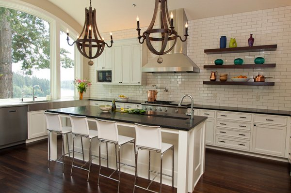 20 Contemporary Floating Shelves In The Kitchen Home