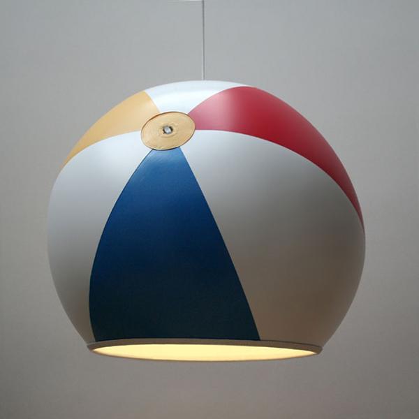 Beach Ball Lamp