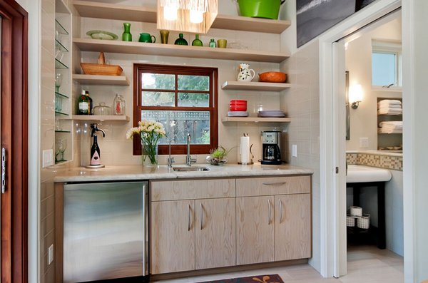efficient wet bar