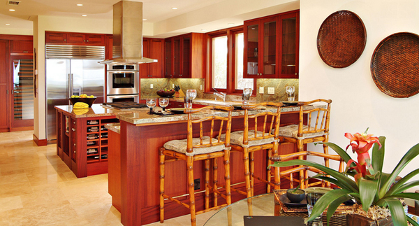 Hawaii-inspired kitchens