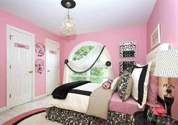 Charmant 6. Chantelu0027s Pink And Black Bedroom