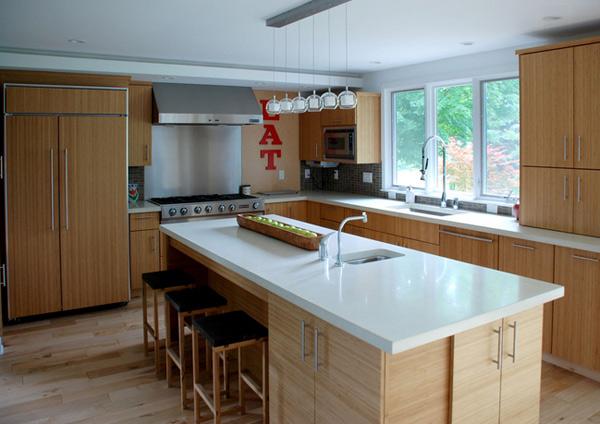 White Countertop. Forward Design Build