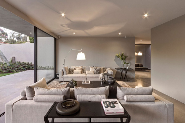 beige sofa set