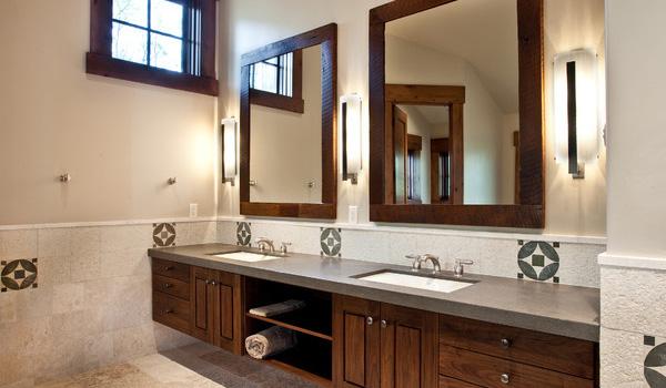Add a vanity mirror