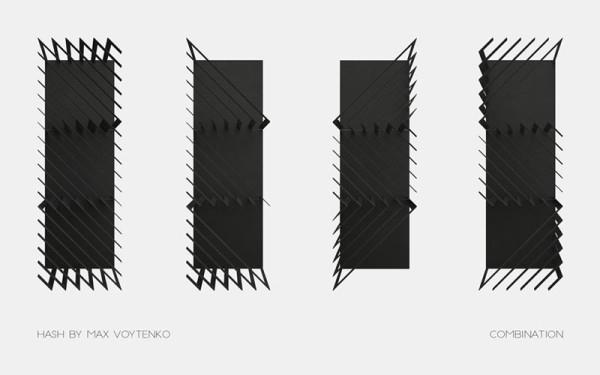 vertical rectangular Hash