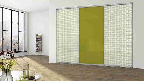 three-panel door design