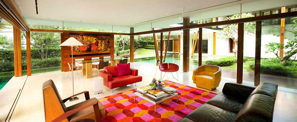 interior glass walls