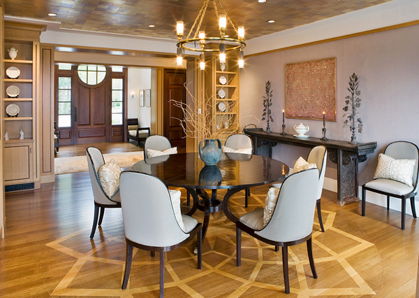 Circular Oak Tables