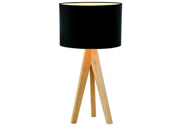 Superieur ... Wooden Tripod Table Lamp. Email; Save Photo. Black Linen
