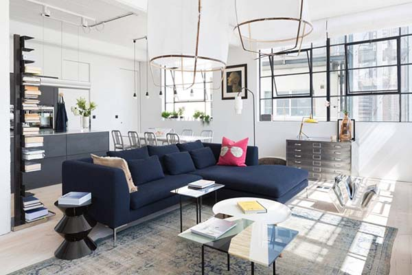 airy industrial london loft apartment in england home design lover