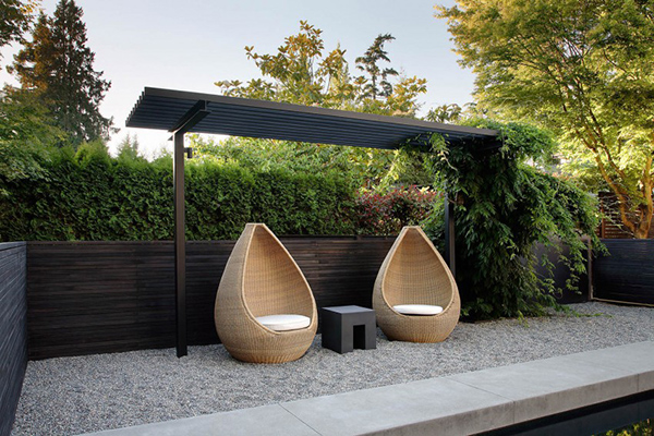 outdoor seat set