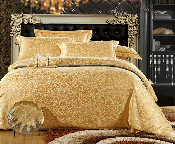 bedsheet Embroidery Satin