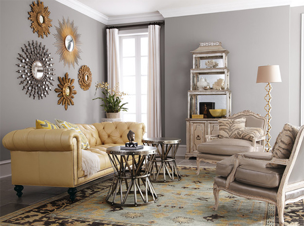 20 Opulent Ways To Use Gold In The Living Rooms Home Design Lover
