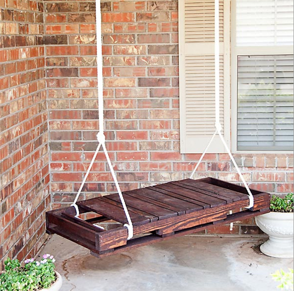 Pallet do it yourself Swing
