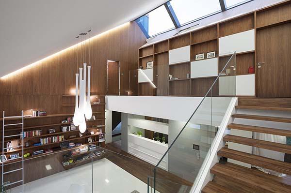 sloped ceiling design