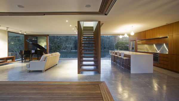 open floor design