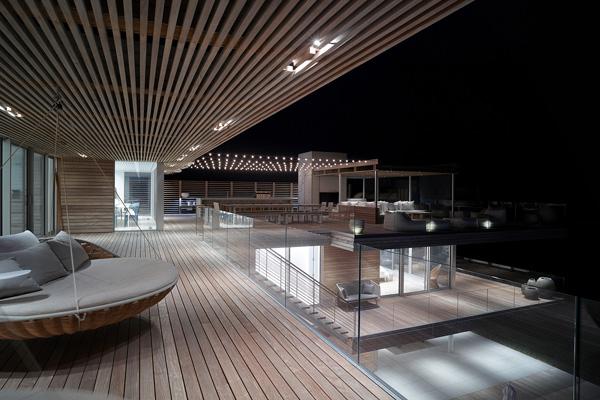 evening deck