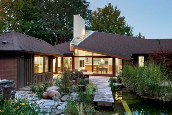 sloped roof design