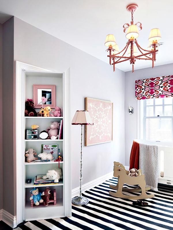 nursery door bookcase