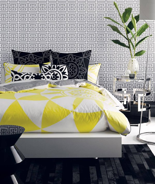 Yellow Bed Linen Collection