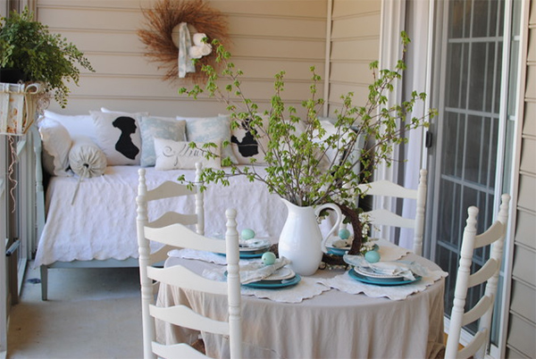 20 Relaxing Beach Themed Porch Designs Home Design Lover