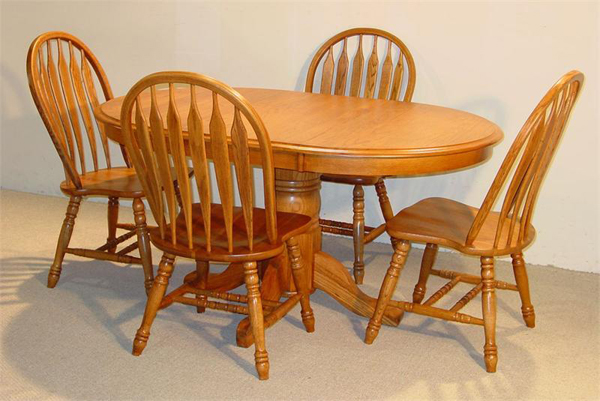 20 Outstanding Oval Oak Dining Room Tables Home Design Lover