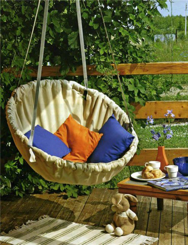 20 epic ways to diy hanging and swing chairs home design ForHow To Build A Swing Chair