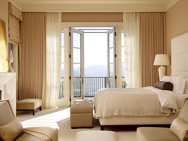bedroom terrace door
