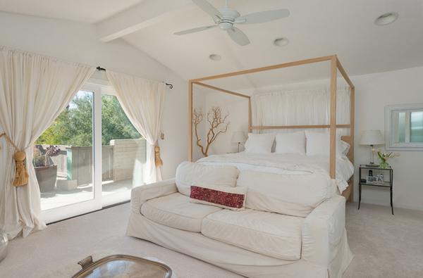 canopy elegant bedroom