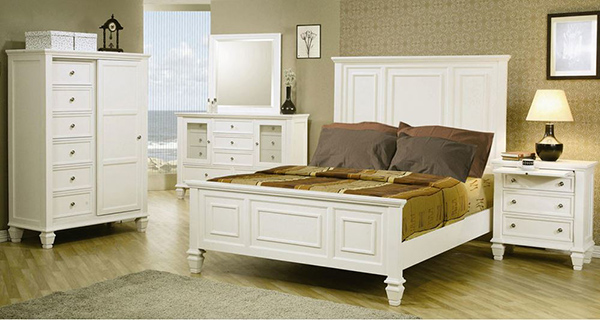 Sandy Beach bedrooms