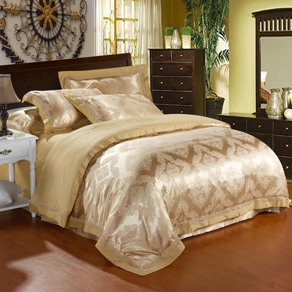 Famous 20 Fancy Golden Colored Bed Linens | Home Design Lover YR94