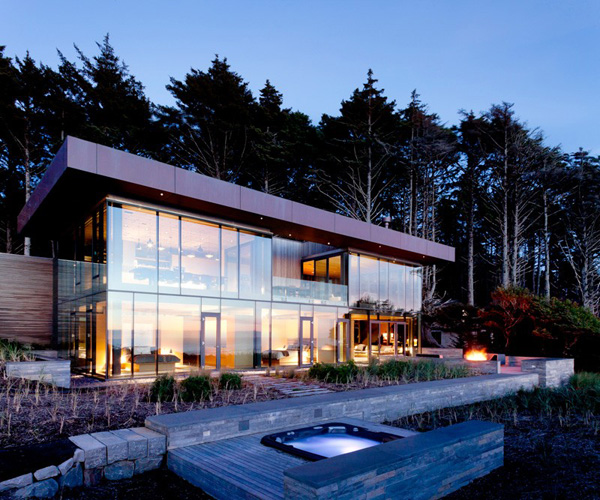 Transparent Beachfront Home