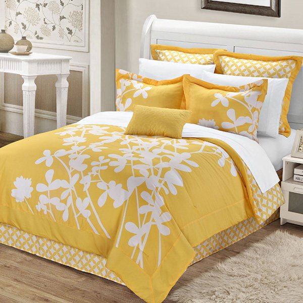 20 Yellow Duvet Sets For A Happy And Gaiety Bedroom Home