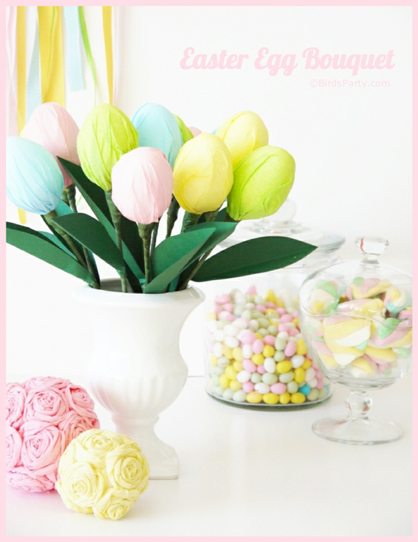 DIY Easter Egg Centerpiece Tutorial