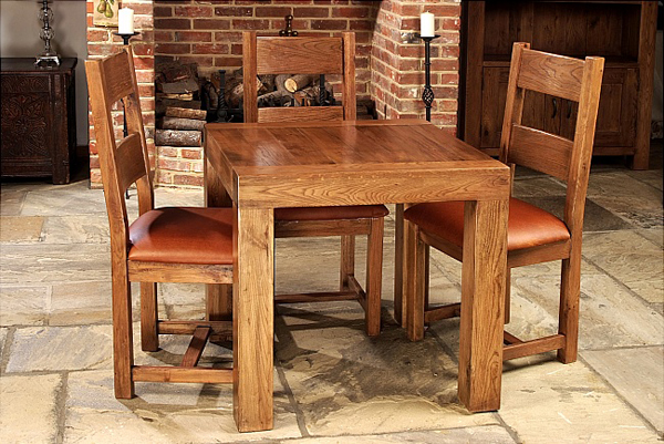 20 Splendid Square Oak Dining Room Tables Home Design Lover