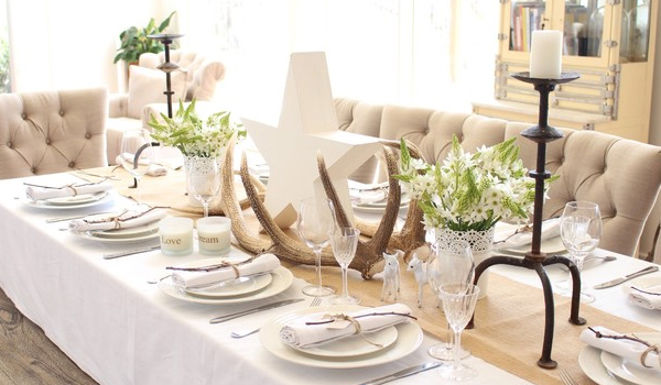 10 tips for a beautiful and inviting dining table set up - Dining table setting ideas ...