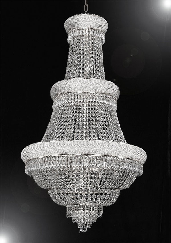 Beau Empire Crystal Chandelier