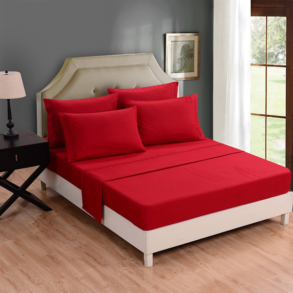 Red Bed Linens