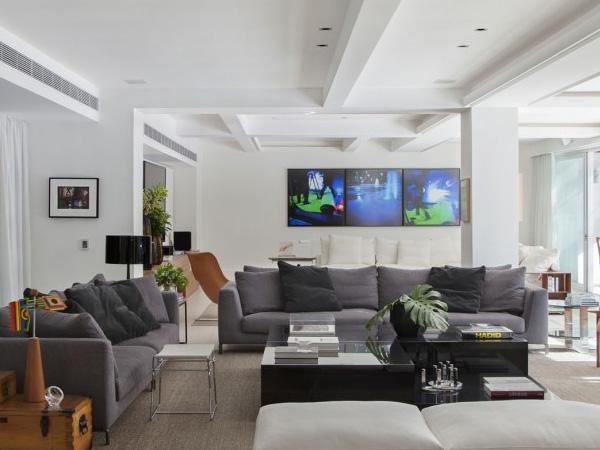 gray sofa set