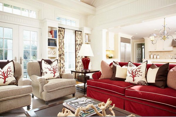 red furniture living room 22 beautiful sofas in the living room home design lover 15619