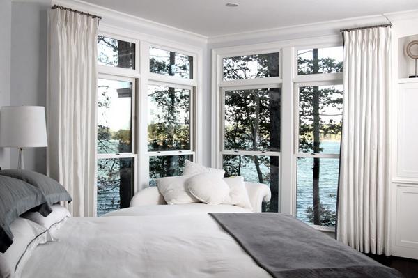 20 Heavenly White Drapes For Bedroom Home Design Lover